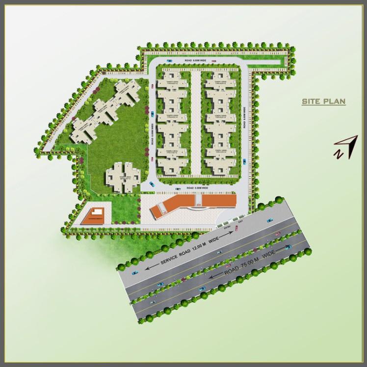 urban-homes-II-Site-Plan