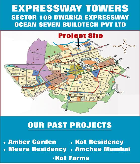 OSB Expressway Towers Location Map