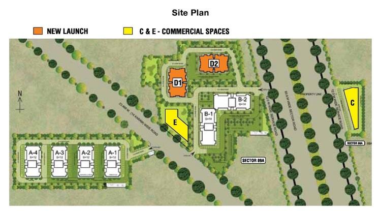 adani site plan