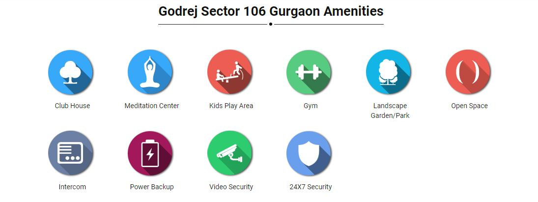 Godrej 106 Amenities