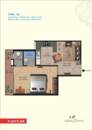 Type A3 - 1 Bhk